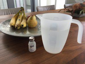 Vandaag bij de 3 maaltijden een halve liter van dit spul.. Hmmm kan niet wachten..;)
